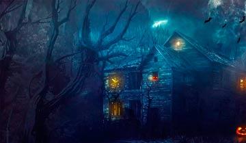 Дом с привидения - звучит интригующе! Позаботимся о том, чтоб интрига не развеялась как можно дольше.