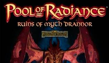 Краткий обзор компьютерной игры Pool of Radiance, запомнившейся громадными подземельями и... довольно однообразными пейзажами.