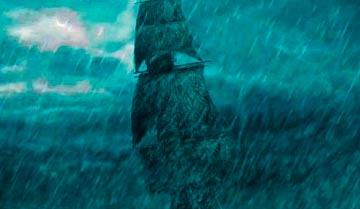 Обязательные элементы фольклора любой страны, связанной с морем - корабли призраки. Как их создавать и что с ними потом делать.