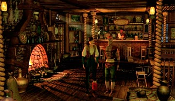 Двор для постояльца Все любители настольных ролевых игр знают про таверны и постоялые дворы. А вот какими они бывают?