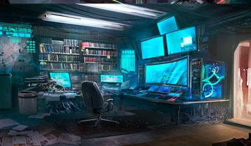 Что почитать, посмотреть, короче: чем вдохновится перед проведением игры в стиле киберпанк