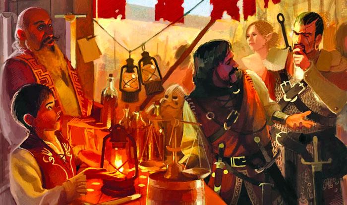 Как подружить мир настолной ролевой игры игры и тех кто его населяет