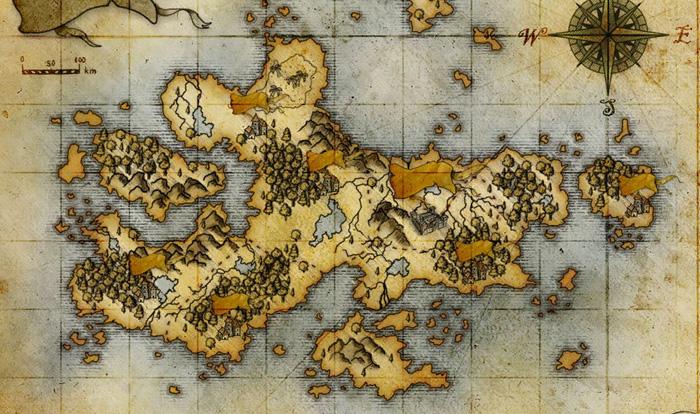 Подготовка игровой карты для первого приключения в кампании
